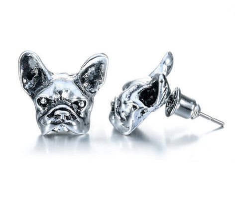 French Bulldog Earrings - Peachy Keen Boutique