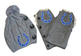 Colts Leg Warmers and Beanie - Peachy Keen Boutique