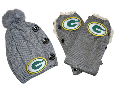 Packers Beanie and or Leg Warmers - Peachy Keen Boutique