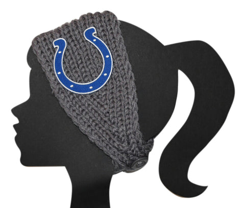 Colts Knit Headband - Peachy Keen Boutique