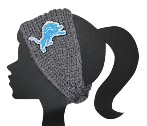 Lions Knit Headband - Peachy Keen Boutique