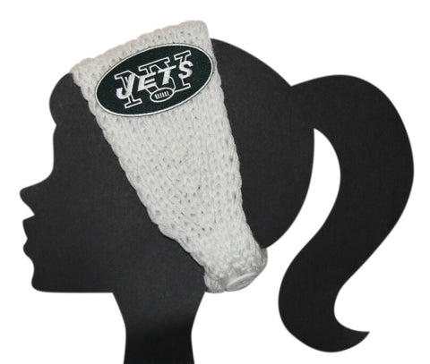 Jets Knit Headband - Peachy Keen Boutique