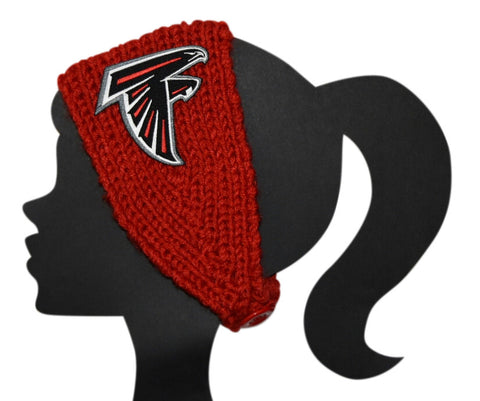 Falcons Knit Headband - Peachy Keen Boutique