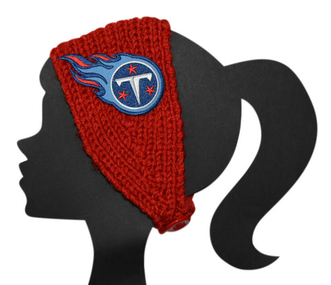 Titans Knit Headband - Peachy Keen Boutique