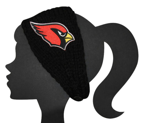 Cardinals Knit Headband - Peachy Keen Boutique