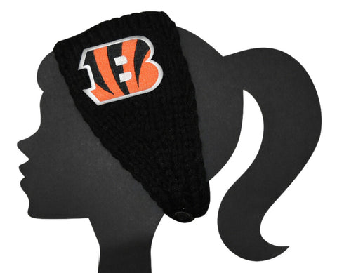 Bengals Knit Headband - Peachy Keen Boutique