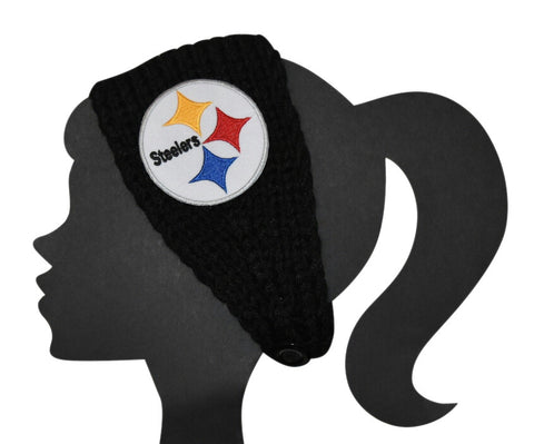 Steelers Knit Headband - Peachy Keen Boutique
