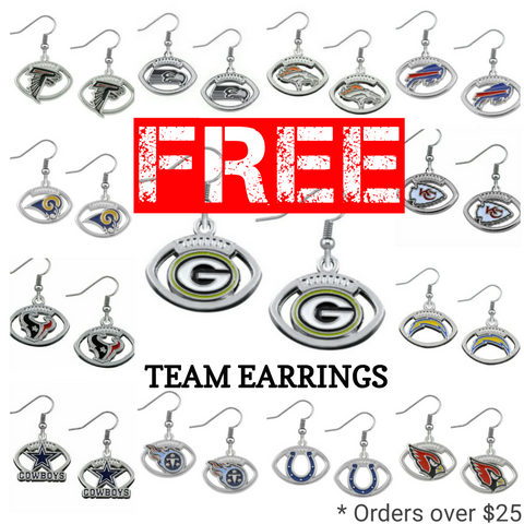FREE Earrings Orders $25+