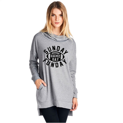 Sunday Funday Sweatshirt - Peachy Keen Boutique