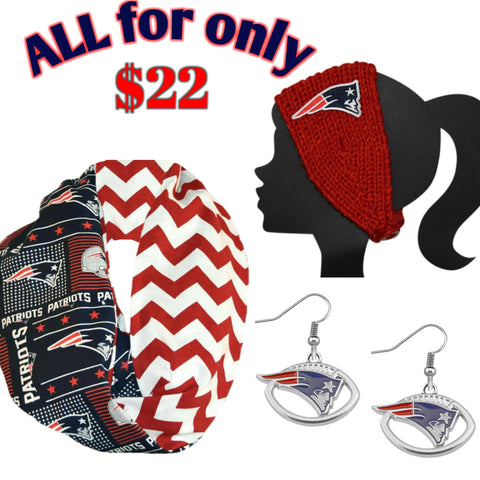 Patriots Bundle - Peachy Keen Boutique