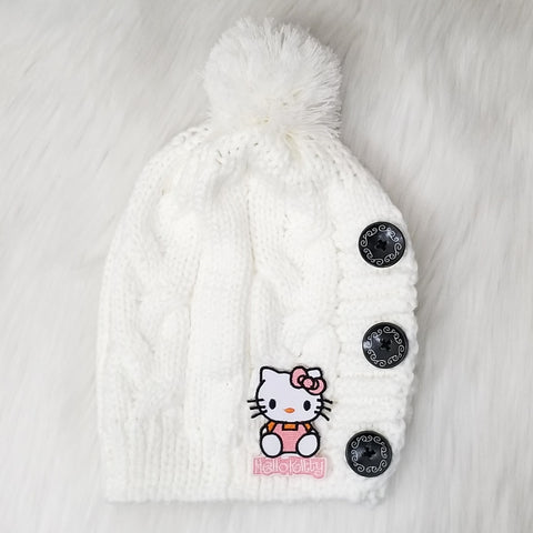 Hello Kitty Knit Beanie
