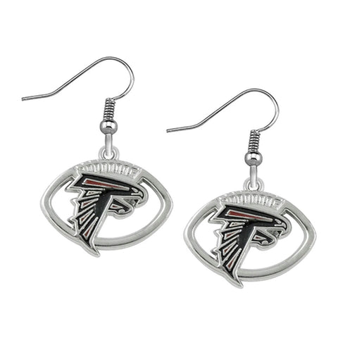 Falcons Earrings - Peachy Keen Boutique
