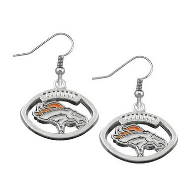 Broncos Earrings - Peachy Keen Boutique