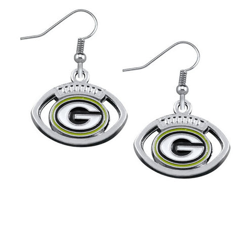 Packers Earrings - Peachy Keen Boutique