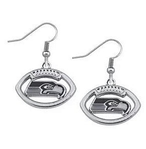 Seahawks Earrings - Peachy Keen Boutique