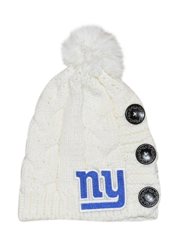 NY Giants Knit Beanie - Peachy Keen Boutique