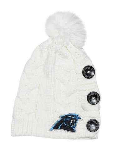 Panthers Knit Beanie - Peachy Keen Boutique