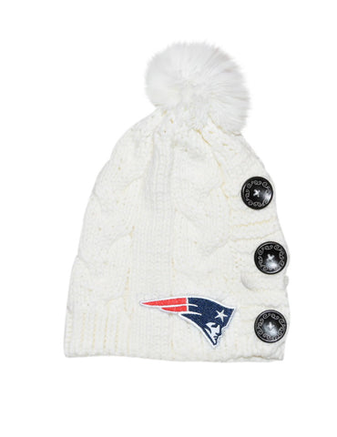Patriots Knit Beanie - Peachy Keen Boutique