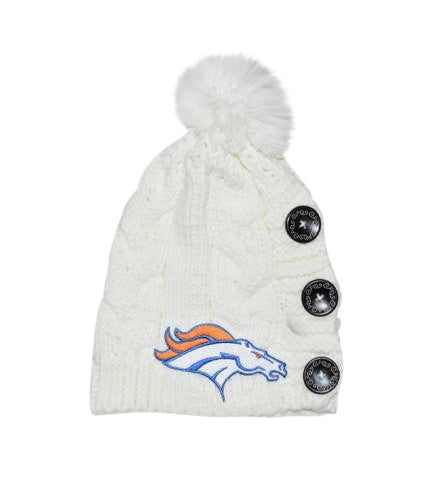 Broncos Knit Beanie - Peachy Keen Boutique