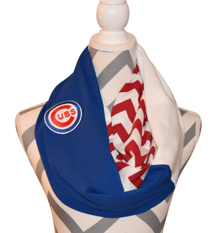 Cubs Scarf - Peachy Keen Boutique