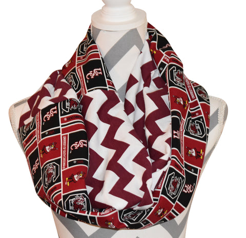 Gamecocks Scarf - Peachy Keen Boutique