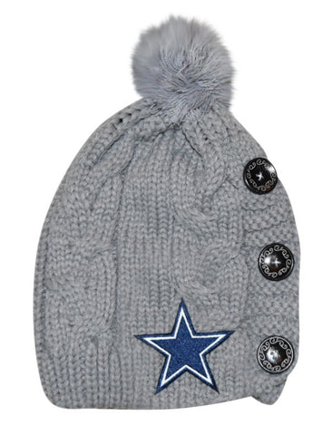 Cowboys Knit Beanie - Peachy Keen Boutique