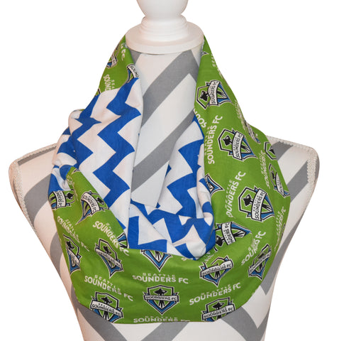 Seattle Sounders FC Scarf - Peachy Keen Boutique