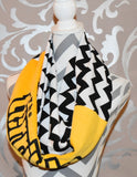 Steelers Terrible Towel Scarf - Peachy Keen Boutique