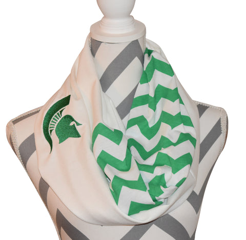 Michigan State Spartans Scarf - Peachy Keen Boutique