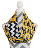 Michigan Wolverines Scarf - Peachy Keen Boutique