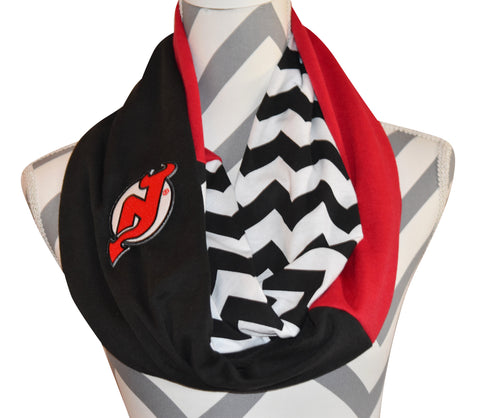 New Jersey Devils Scarf - Peachy Keen Boutique