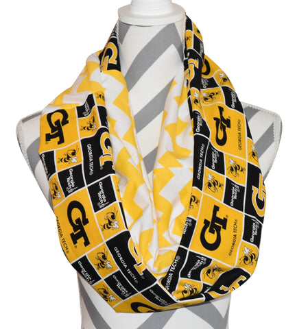 Georgia Tech Scarf - Peachy Keen Boutique