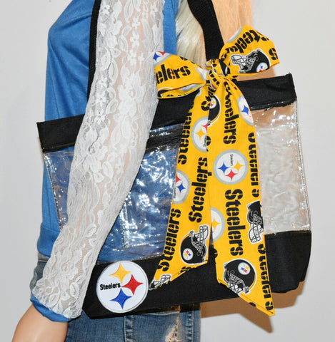 Steelers Clear Tote