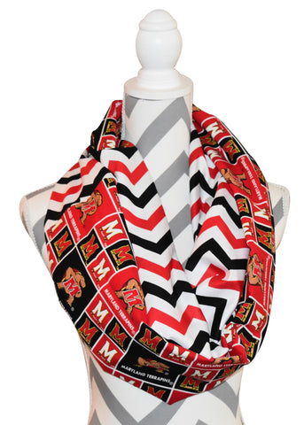 Maryland Terrapins Scarf - Peachy Keen Boutique