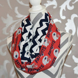 New England Patriots Scarf - Peachy Keen Boutique