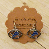 Lions Earrings - Peachy Keen Boutique