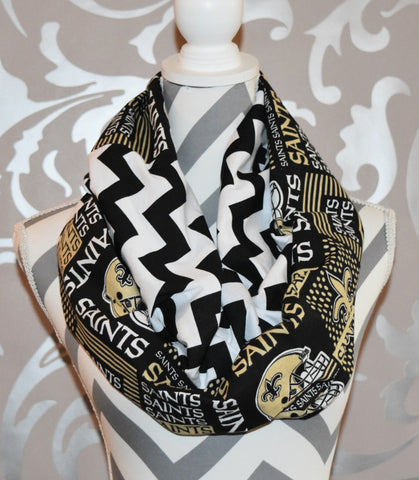 Saints Scarf - Peachy Keen Boutique