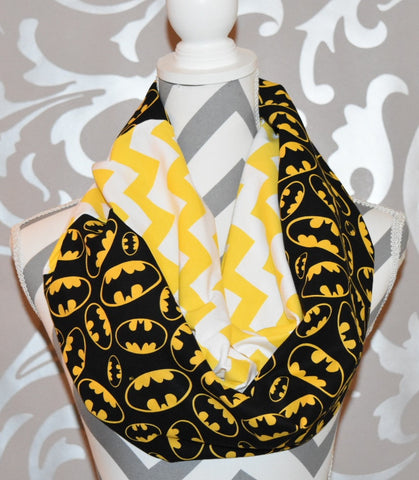 Batman Scarf - Peachy Keen Boutique