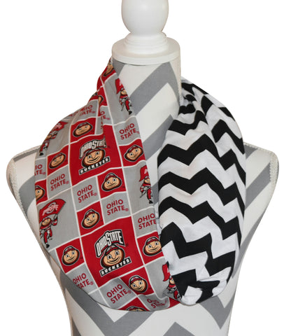 Ohio State Buckeyes Scarf - Peachy Keen Boutique
