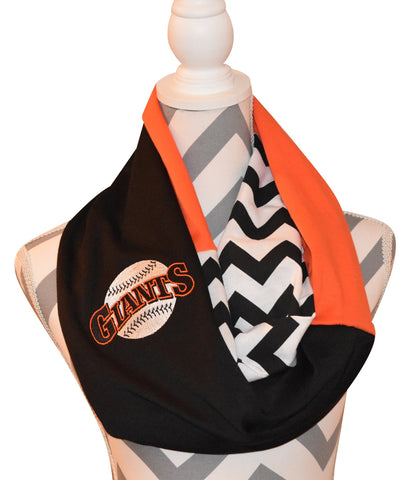 SF Giants Scarf - Peachy Keen Boutique