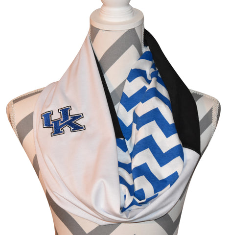 Kentucky Wildcats Scarf - Peachy Keen Boutique