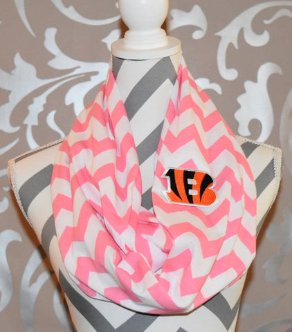 Bengals Pink Scarf - Peachy Keen Boutique