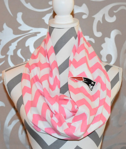 Patriots Pink Scarf - Peachy Keen Boutique
