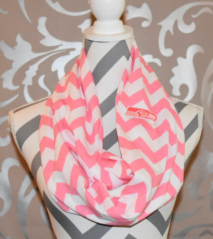 Seahawks Pink Scarf - Peachy Keen Boutique