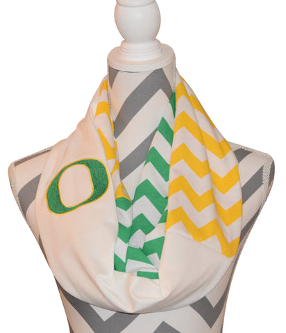 Oregon Ducks Scarf - Peachy Keen Boutique