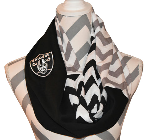 Raiders Scarf - Peachy Keen Boutique