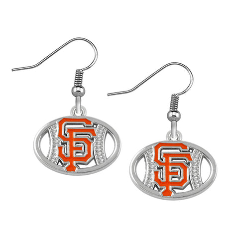 SF Giants Earrings - Peachy Keen Boutique