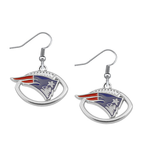 Patriots Earrings - Peachy Keen Boutique