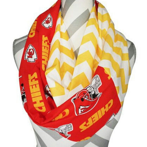 Chiefs Scarf - Peachy Keen Boutique