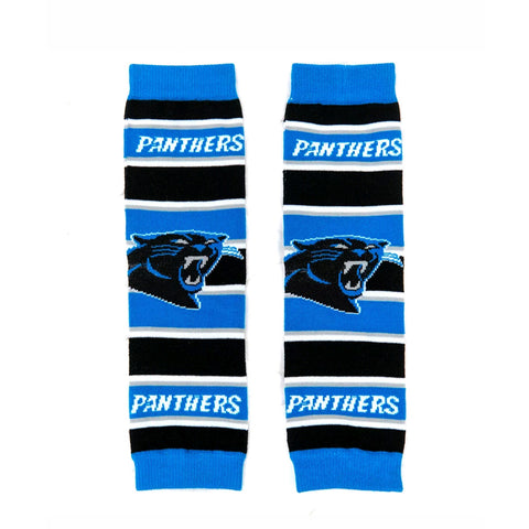 Carolina panthers Baby Leg Warmers nfl leggings - Peachy Keen Boutique